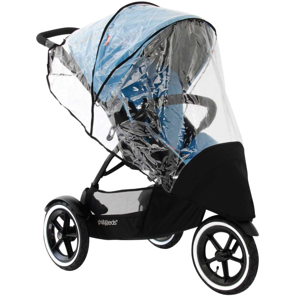 Raincover Compatible With Phil /& Teds Dot Pushchair