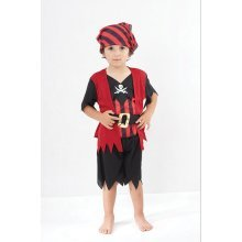 Toddlers Pirate Boy Mate Costume