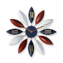 GoedYE 3D metal wall clock - Scandinavian