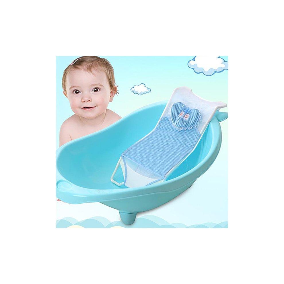 Newborn Baby Infant Bath Net Seat Holder Support Bed Antiskid ...