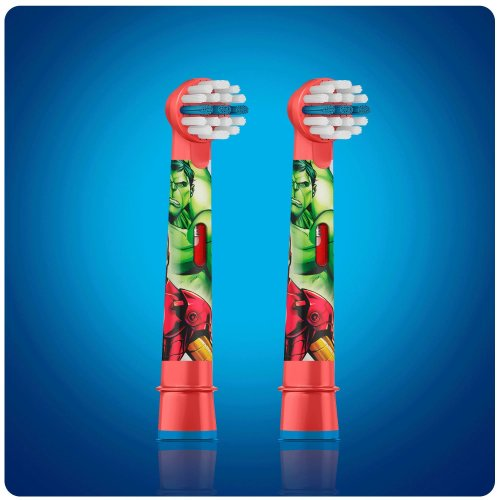Oral-B Stages Kids Avengers Replacement Toothbrush Heads - Pack of 4