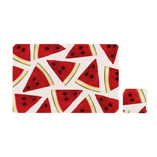 Set of 4 Watermelon Placemats & Coasters