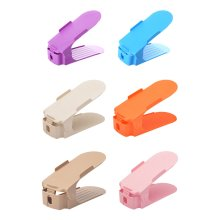 6 PCS 26.5X10.7X8 CM Space-Saving Shoe Racks Shoe Organizers, Random Color