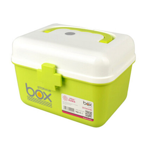 Home/Travel Portable Medicine Cabinet First-Aid Case Storage Box Pill Box Green