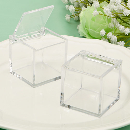 Acrylic Clear Box From The Perfectly Plain Collection (4.5cm)