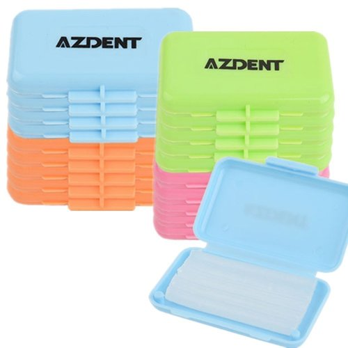 AZDENT®Dental Orthodontics Relief Brace Wax Multicolored 5 Boxes/Taste,4 Taste Totally-(20 Boxes Packed)