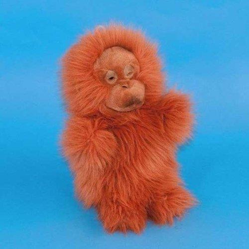 Dowman Orangutan Hand Puppet Soft Toy 28cm