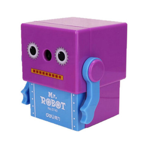 Quiet for Office,Pencil Sharpener, Home and School,Cute Robot