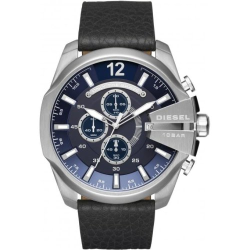 Diesel Watch Mega Chief DZ4423 Chronograph Leather Man
