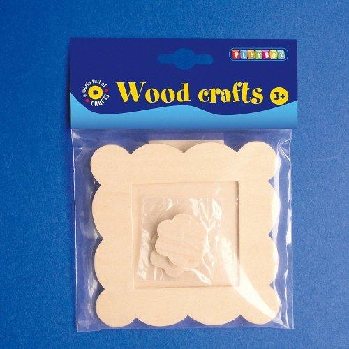 Pbx2470090 - Playbox - Wooden Frame - 10 X 10 Cm