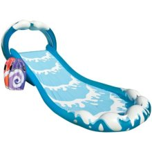 "Intex Surf N Slide Inflatable Play Center, 174"" X 66"" X 64"", for Ages 6+"