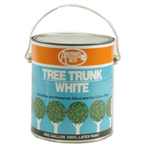 Arizonas Best AZB30012 White Tree Paint, 1 Gallon