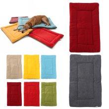 Pet Dog Puppy Cat Mat Warm Soft Pad Cushion Bed Nest Fluffy Pet Cushion Fleece