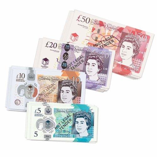 Learning Resources UK MONEY SET (50 NOTES)