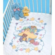 D03171 - Dimensions Stamped X Stitch - Quilt: Twinkle Twinkle