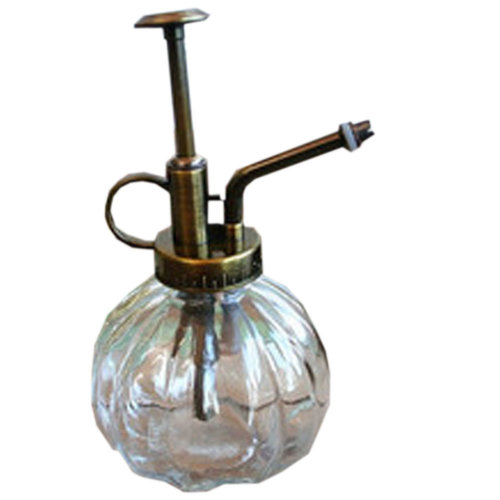 """Creative Zakka Glass Water Cans Vintage Gardening Watering 6.2*3.5"""" Lucency"""