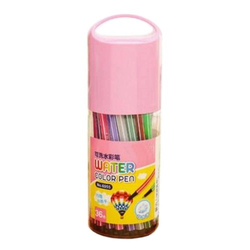 [P] 36 Colors Watercolor Drawing Pens Colored Marker Pens Set for Children