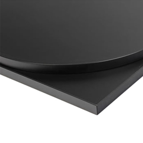 Taybon Laminate Table Top - Black Square - 700x700mm