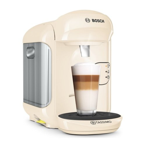 Tassimo TAS1407GB Vivy 2 Coffee Machine Cream 1300W 0.7L Auto Shutoff Bosch