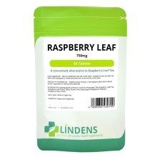 Lindens Raspberry Leaf Tea 84 Tablets; 750mg; 6 Week Supply