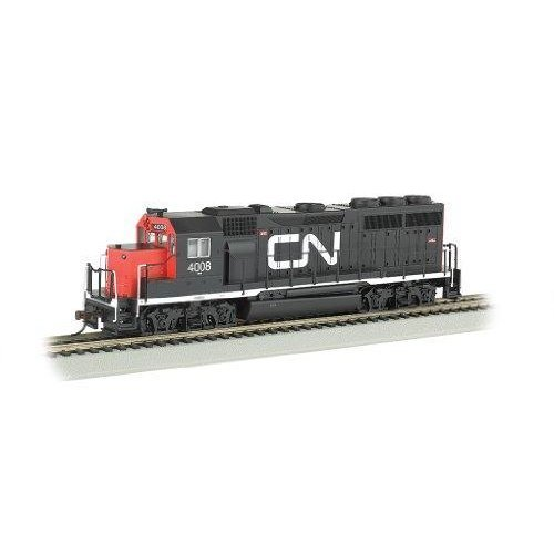 Bachmann Industries EMD GP40 DCC Equipped Locomotive CN #4008 HO Scale Train Car