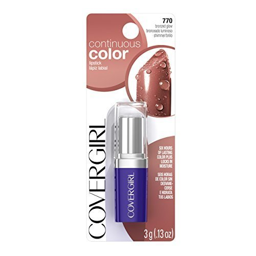 COVERGIRL Continuous Color Lipstick Bronzed Glow 770, .13 oz