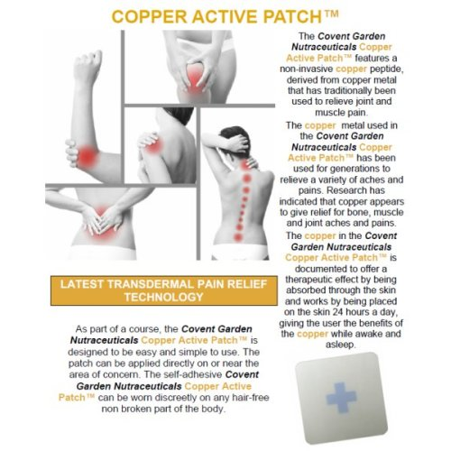 COPPER ACTIVE PATCH | Dermal Pain Relief Patch