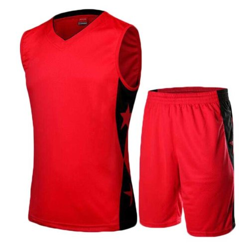Men's Tank Top Sportswear Basketball Jersey and Shorts