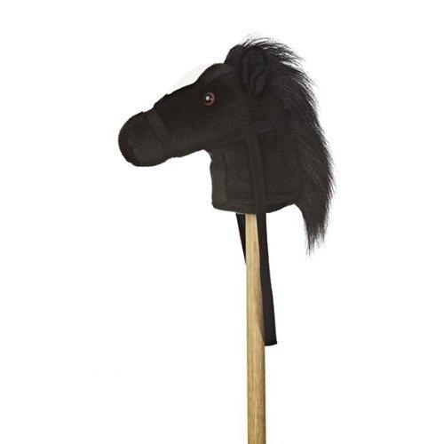 "Aurora World World Giddy-Up Stick Horse 37"" Plush, Black"