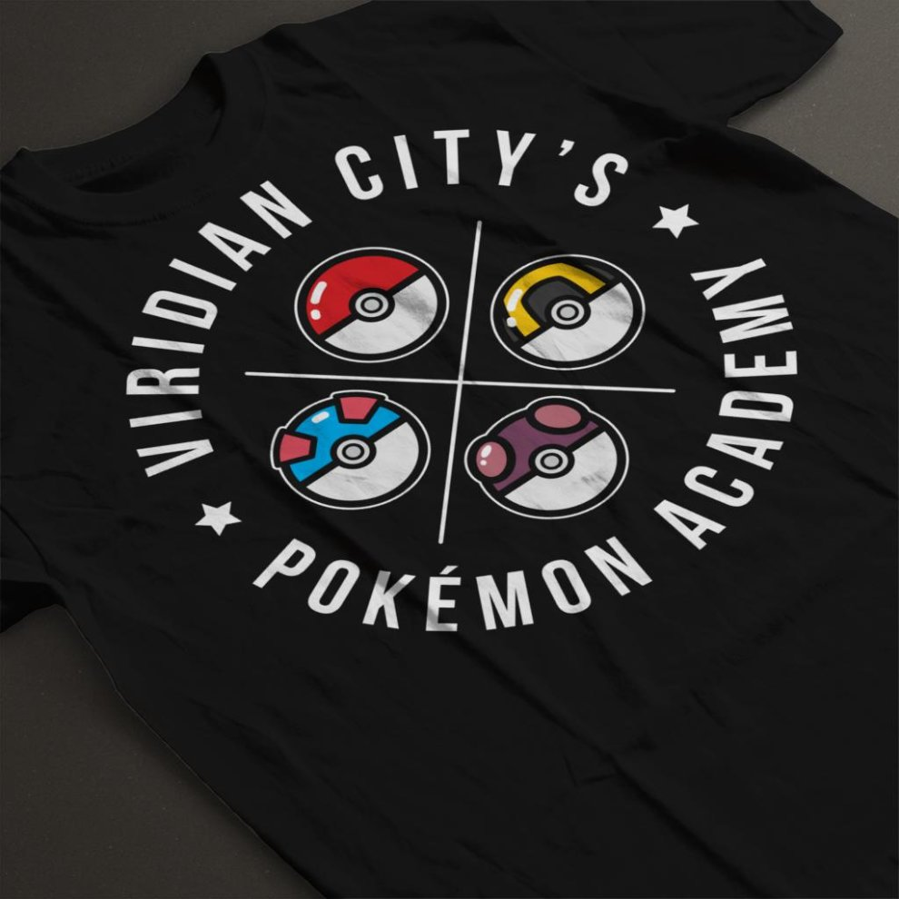 010ca0d50 Pokemon Viridian City Academy Men's T-Shirt on OnBuy