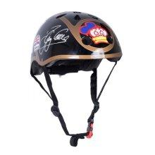 Kiddimoto Children's Bike / Scooter / Skateboarding Helmet - Barry Sheene Design