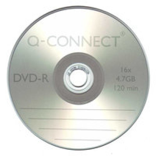 Q-CONNECT DVD-R CAKEBOX PK25