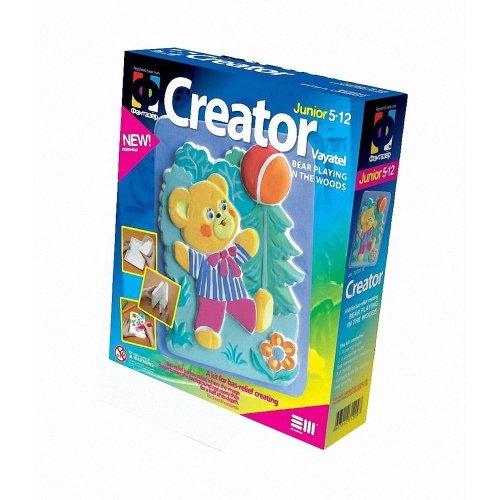Elf707011 - Fantazer - Creator Plastercast Bear Playing in the Woods
