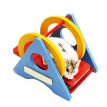 Cute Hamster Hideout Hut, Cute Wooden Bedding for Small Animals?W