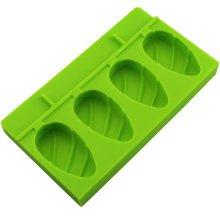 Cute Creative Ice Cube Tray Jelly Tray Mold for Summer, Green