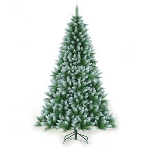Tree Classics 2.1m (7ft) Green Frosted Allison Spruce Artificial Christmas Tree (84-754-421F)