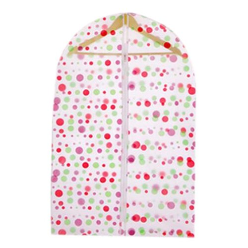 5Pcs Home Travel Portable Clothes Dust-proof Cover Waterproof Cover, Dots