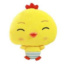 Lovely Chick Cartoon Warm Hands Pillow Soft Plush Doll Toy Throw Pillows Cushion, A