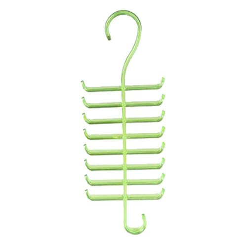 Hang A Tie Rack Hang Scarf Frame Multifunction Clothes Hanging Rack Green