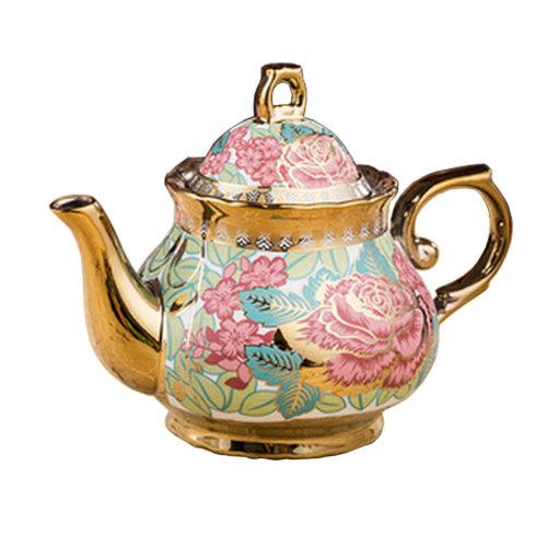 Luxury European style Ceramic Tea Pot Coffee Pot Beautiful ornament