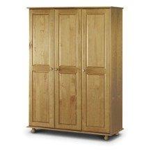 Crenby Pine 3 Door Wardrobe