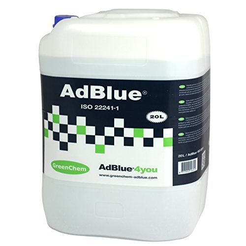 Greenchem 20 Litre Adblue with Free Pouring Spout