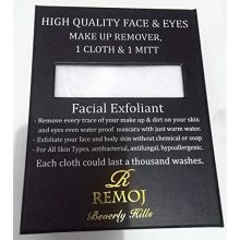 Makeup Remover Cloth &amp 2 mitts chemical free