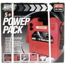 Power Pack 12v 20a/h 120psi Compressor Usb Light - Usb Light 20ah New Battery -  power pack usb compressor light 12v 20ah 120psi new battery