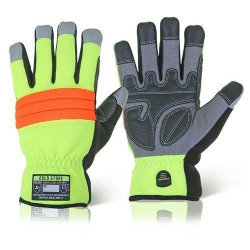 Mecdex MECWN-741L Cold Store Mechanics Gloves Large