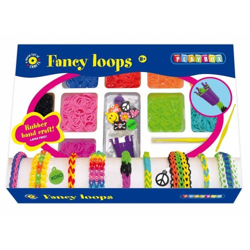 PBX2471117 - * Playbox - Craft set Loops (Loom Bands) - 600