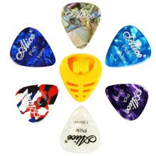 6 PCS Fingers Music Play Guitar Picks Acoustic Guitar Thickness -1.50 MM