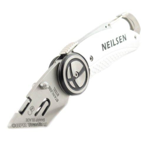 Utility Knife Folding Lock Back Carpenters Builders Knife NO stanley Blade
