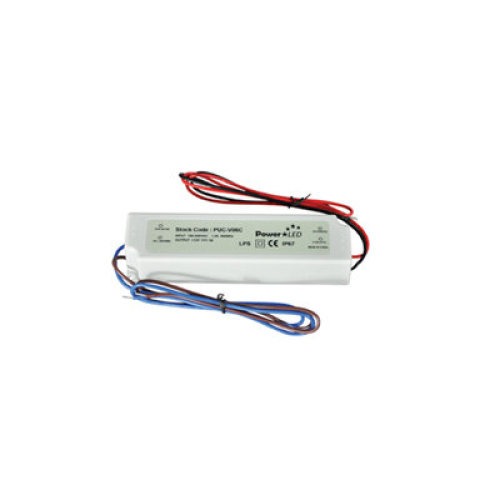 60W 12V 5A IP64 Rated Constant Voltage LED Lighting Power Supply