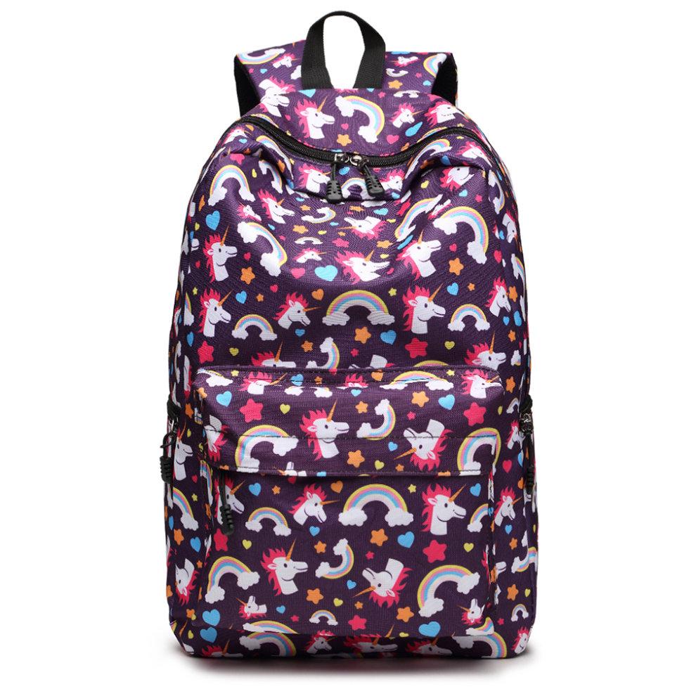 1bd1a41a9 ... Miss Lulu Women Backpack Girls School Bag - 7. >